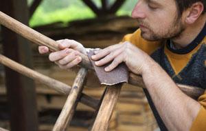 Life Skills - sanding wood
